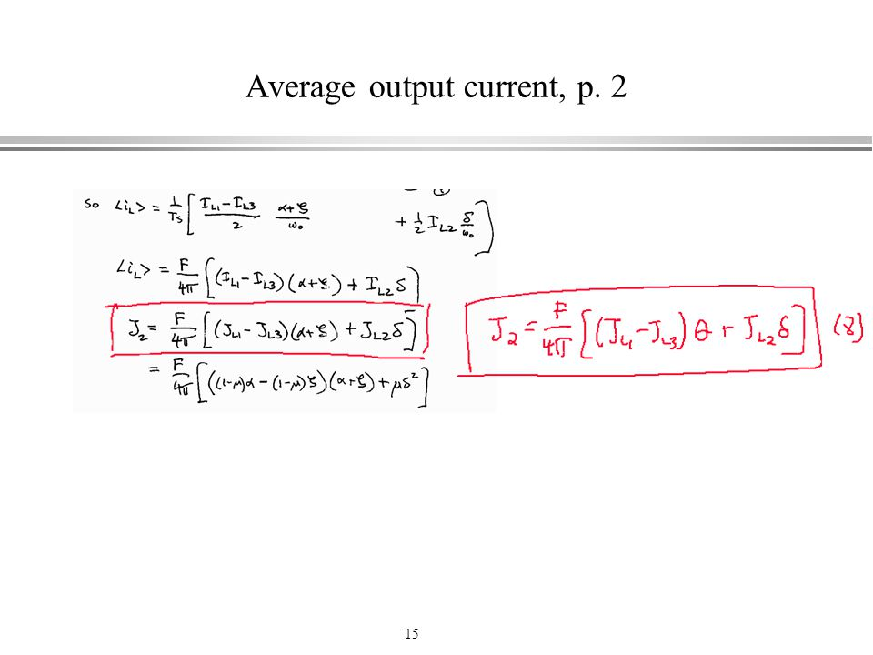 Average output current, p. 2