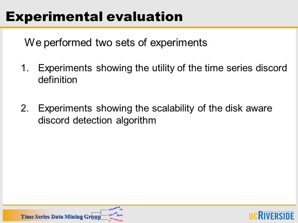 22 Experimental Evaluation
