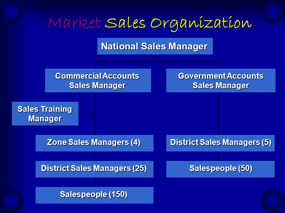 sales organization structure sales force deployment. Black Bedroom Furniture Sets. Home Design Ideas