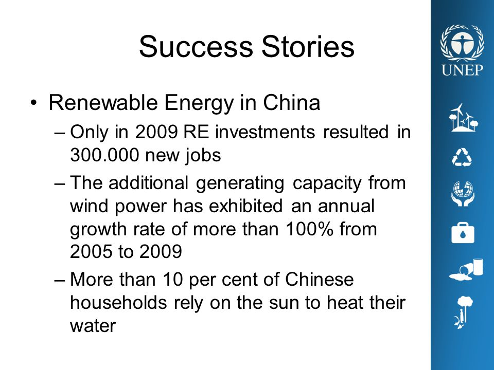 Success Stories Renewable Energy in China