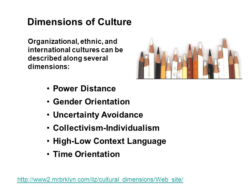 gung ho high vs low power distance cultural dimensions Hofstede's power distance index measures the extent to which the less powerful members of organizations and institutions (like the family) accept and expect that power is distributed unequally.