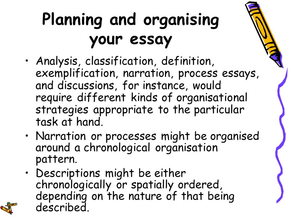 classification division essay drivers