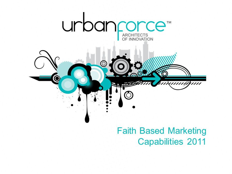 Faith Based Marketing Capabilities 2011