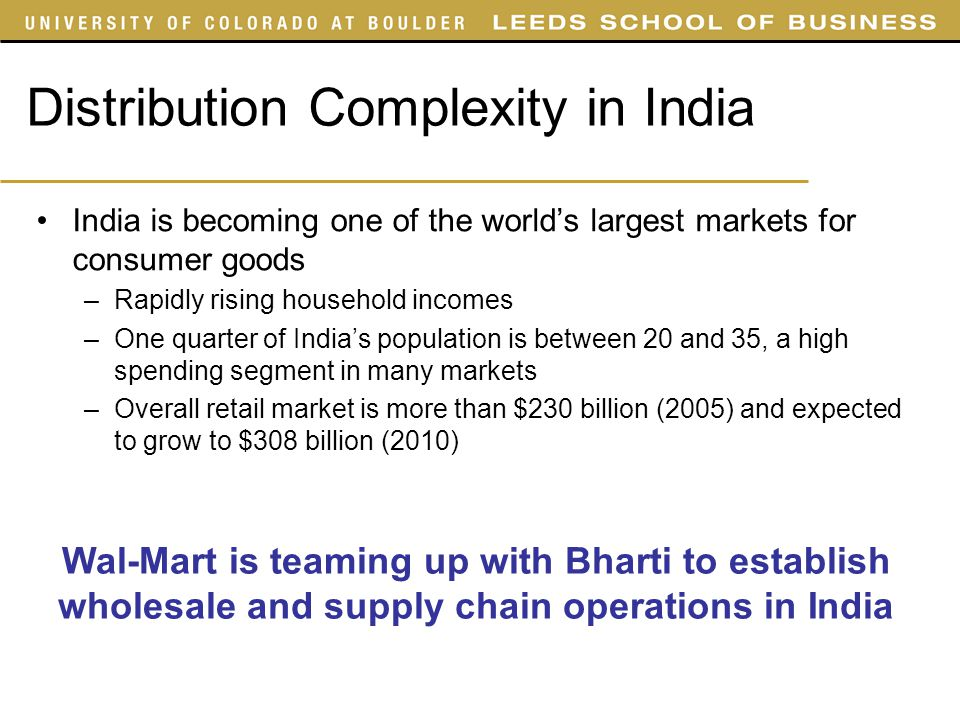 supply chains and distribution in india Bharat petroleum: reducing logistics and distribution costs with  how do you streamline one of india's most complex supply chains to  • lower distribution costs.