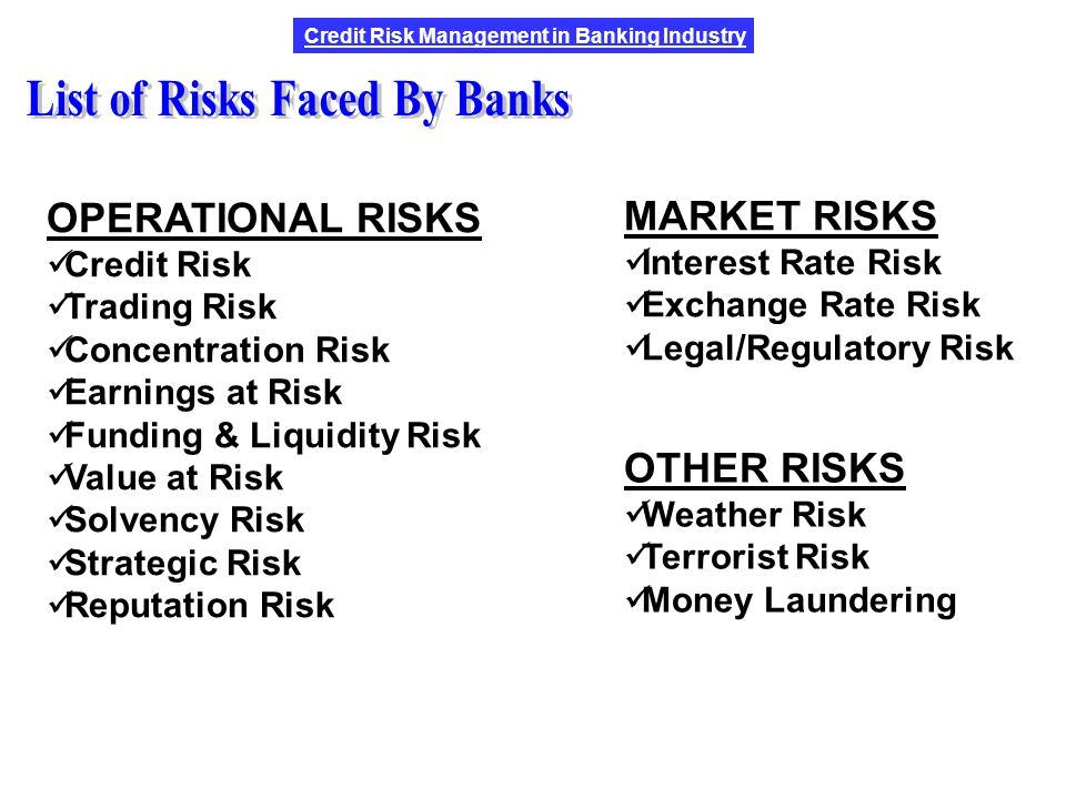8 Risks in the Banking Industry Faced by Every Bank