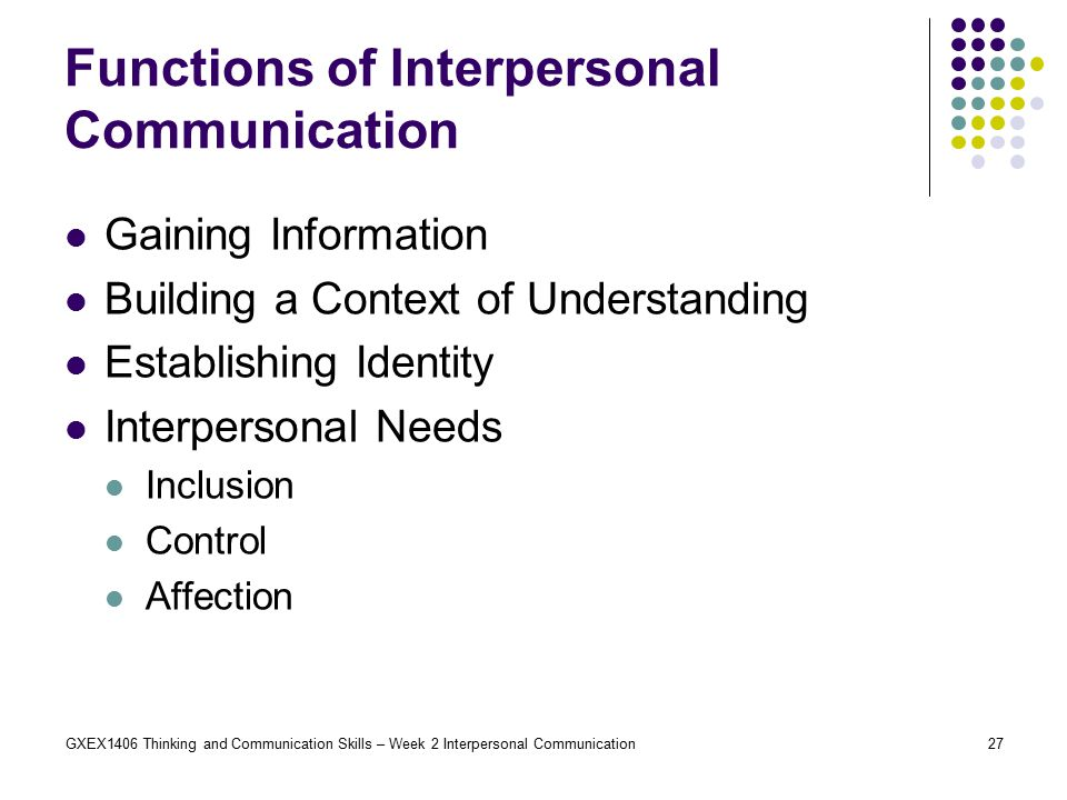 interpersonal communication Free interpersonal communication papers, essays, and research papers.