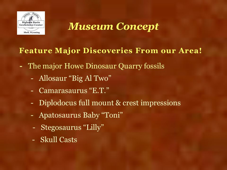 Feature Major Discoveries From our Area!