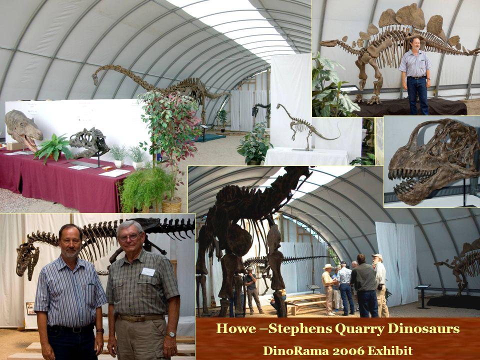 Howe –Stephens Quarry Dinosaurs
