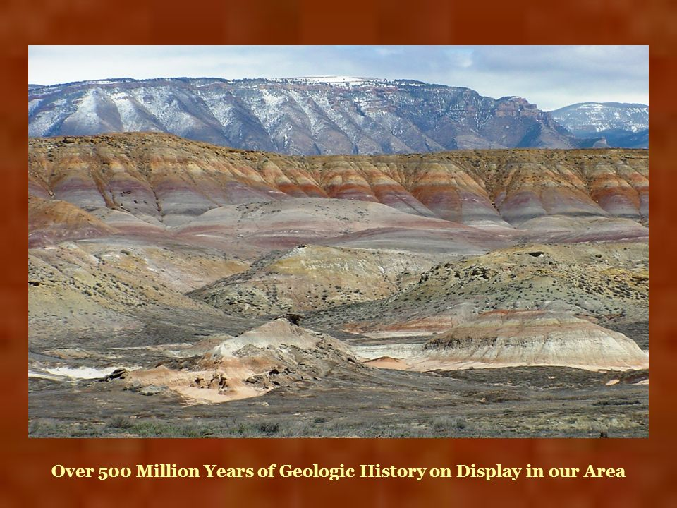 Over 500 Million Years of Geologic History on Display in our Area