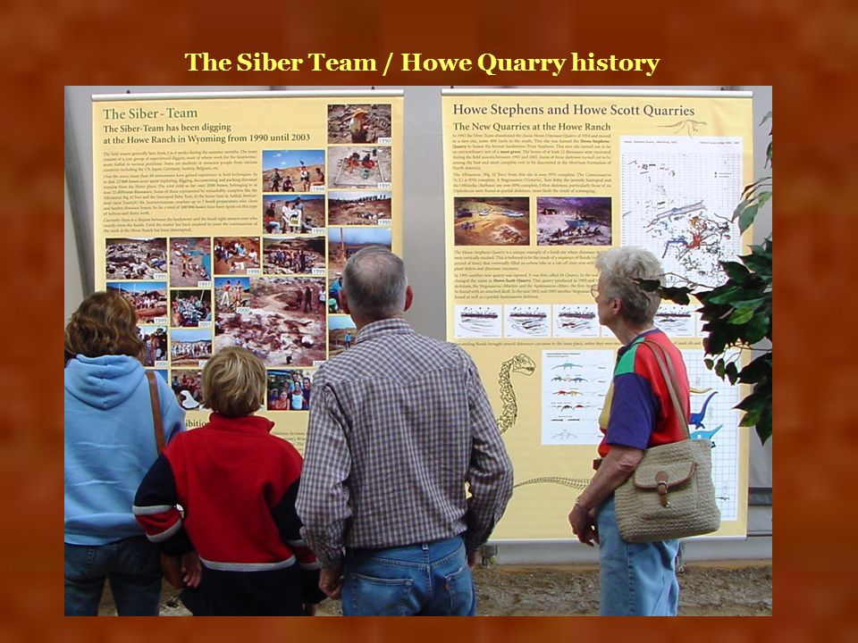 The Siber Team / Howe Quarry history