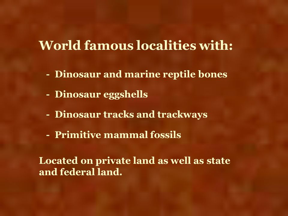 World famous localities with: