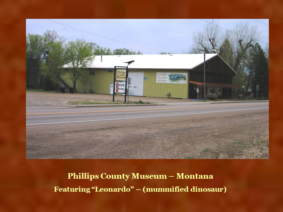 Phillips County Museum – Montana