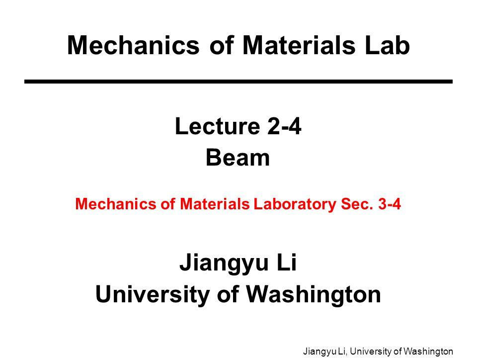 mechanics of materials lab