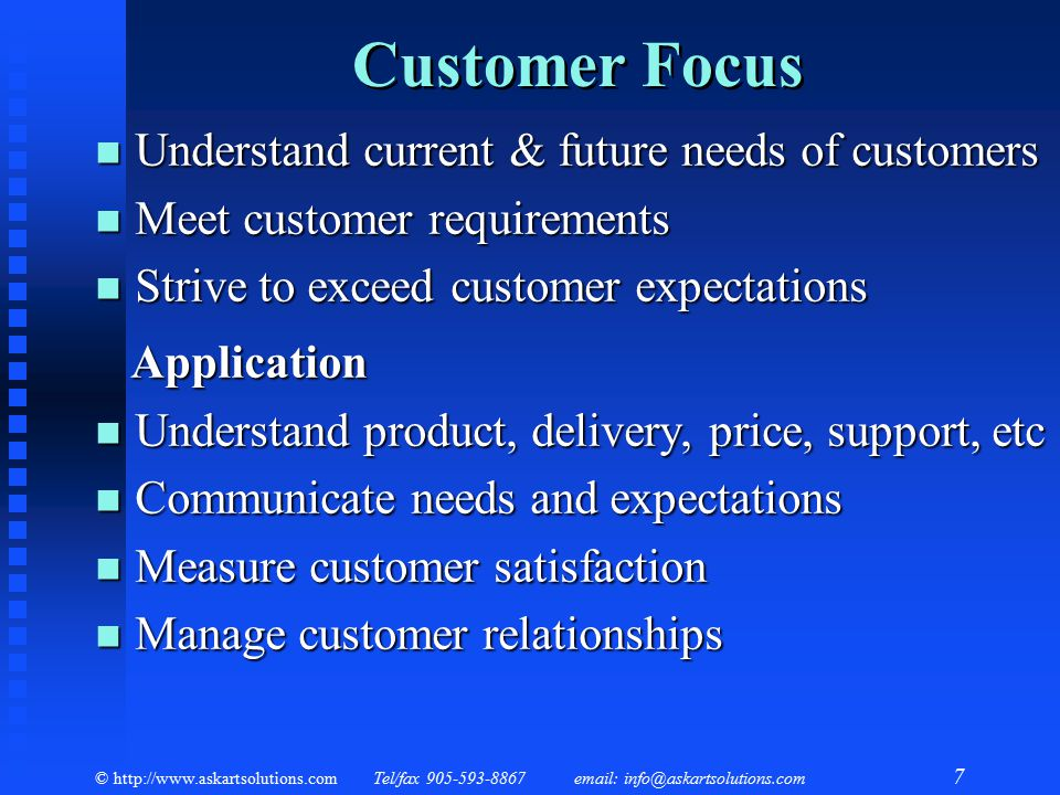 Quality Management An Executive Overview Ppt Video