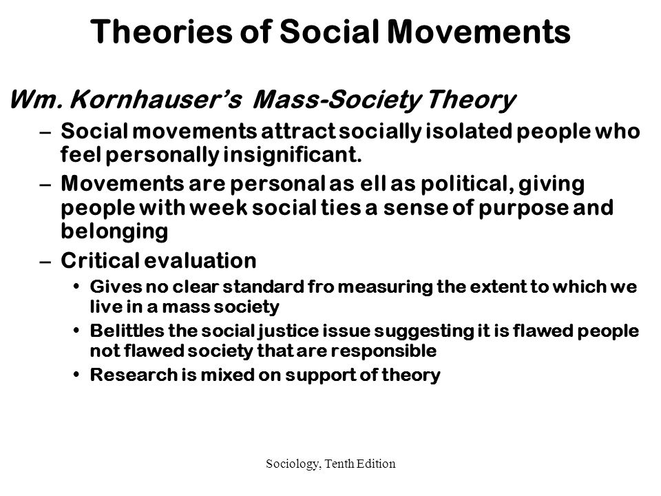 Theory of social justice applied in