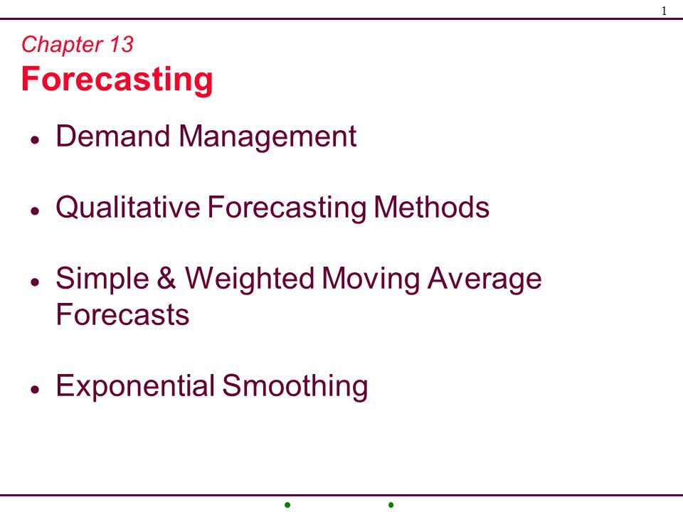 qualitative forecasting techniques Qualitative forecasting is an estimation methodology that uses expert judgment, rather than numerical analysis this type of forecasting relies upon the knowledge of highly experienced employees and consultants to provide insights into future outcomes.