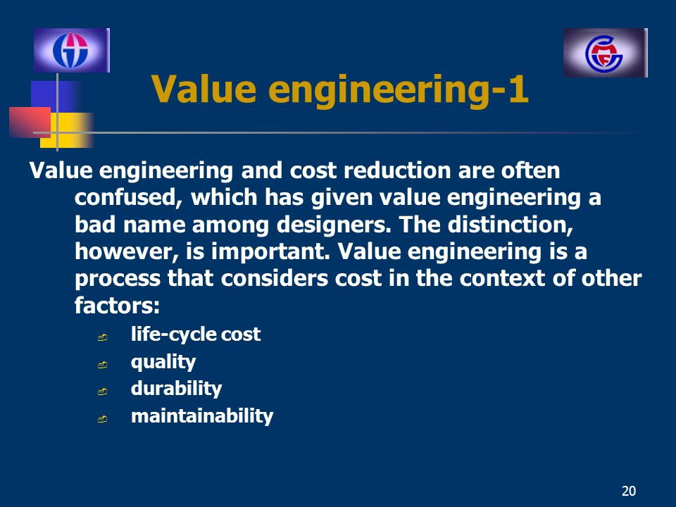 Ce 332 construction engineering and management ppt video for Value engineered