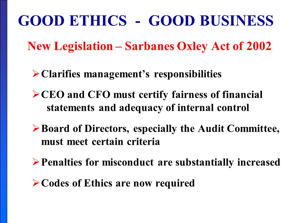 Managerial Accounting - ppt video online download Good Ethics