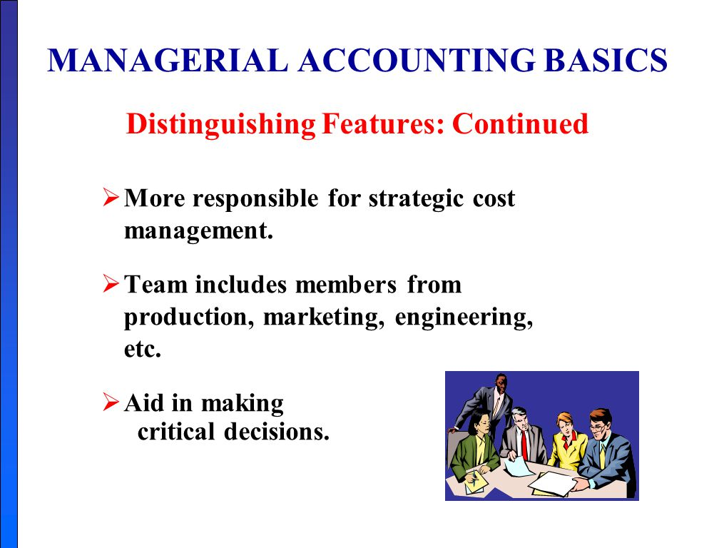 What is Management Accounting?