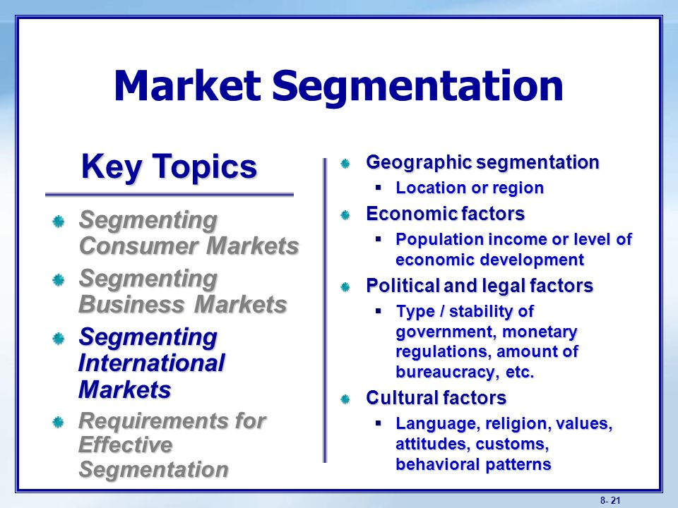 market segment served by revlon The degree to which participation, responsibility, authority, and discretion in decision making are specified strategic management.