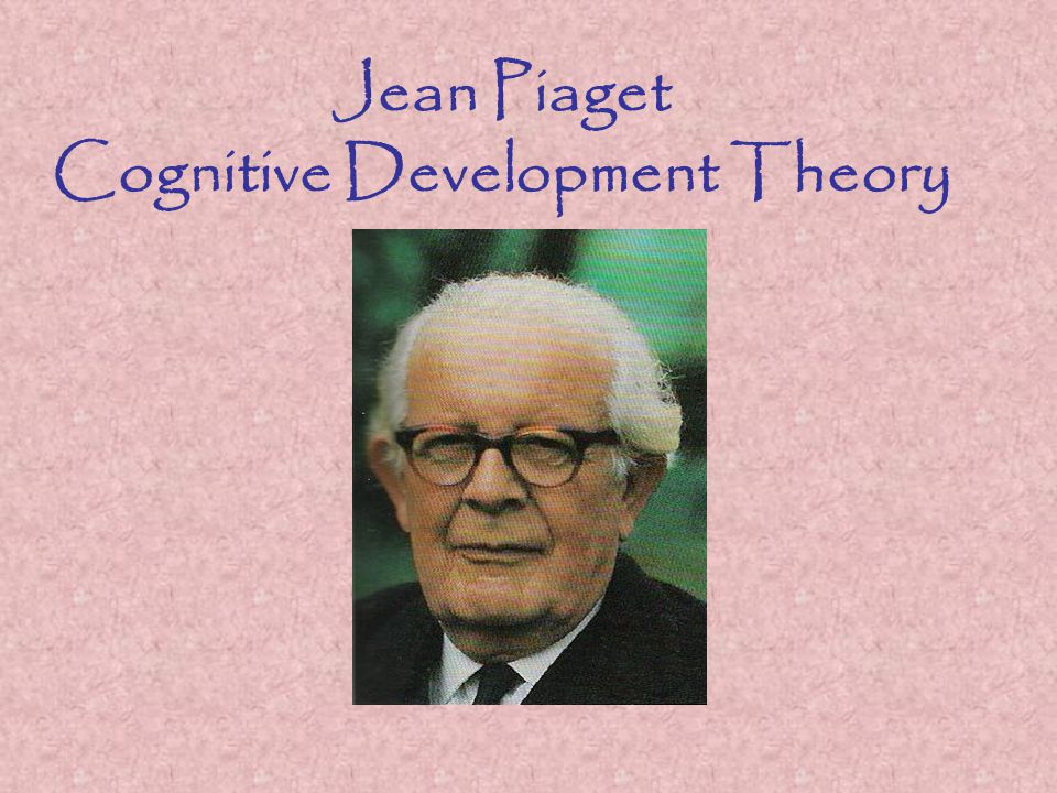 Jean Piaget Cognitive Development Theory