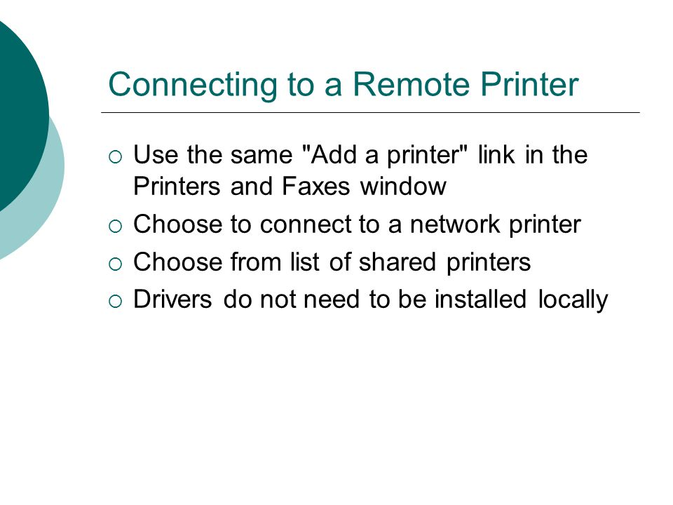 how to detect all printers on the network