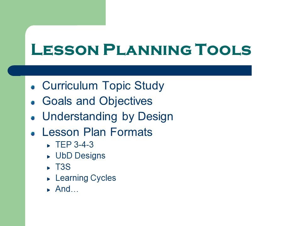 Lesson Planning Finding Your Way Ppt Video Online Download