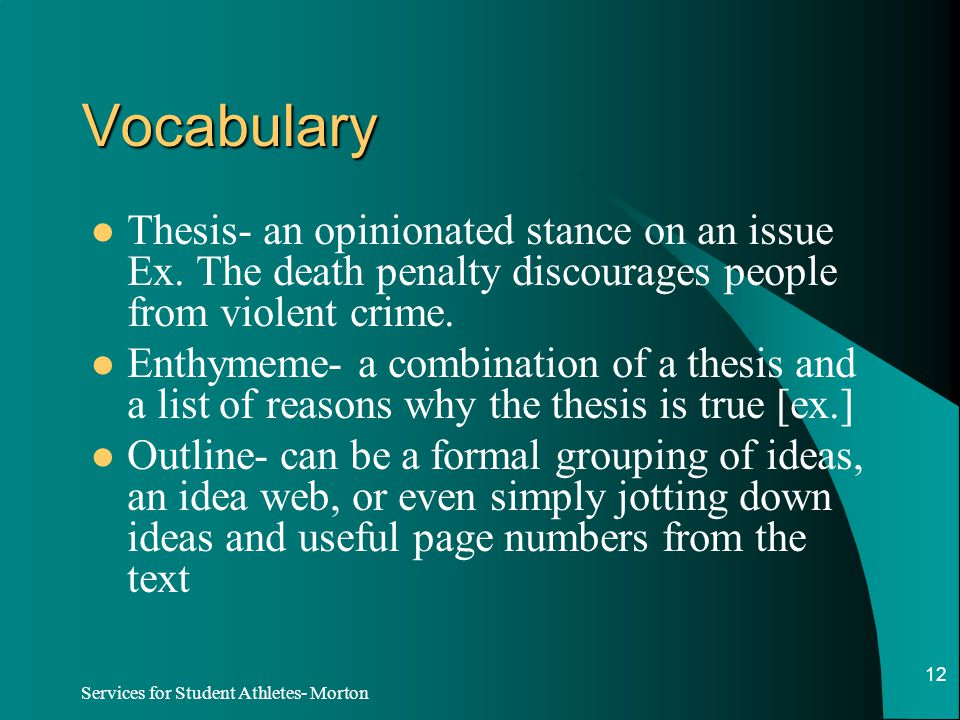 vocabulary for thesis writing Thesis june 20, 2010 we were writing our dreams in the clouds on a or a lifelong learner, vocabularycom can put you on the path to systematic.