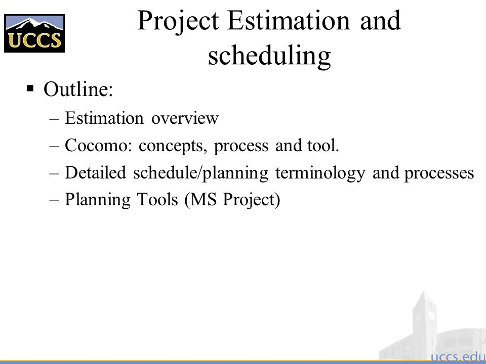 project estimation Project estimation, planning and tracking go hand in hand if you are not able to achieve one aspect successfully then working on the o.