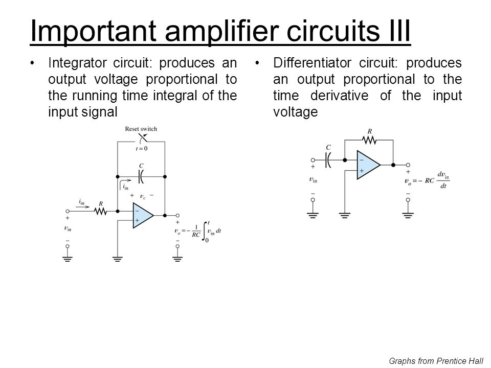 Important amplifier circuits III