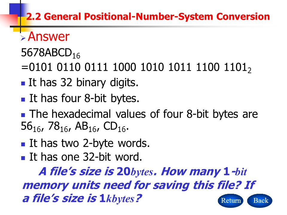 2 2 General Positional Number System Conversion Ppt