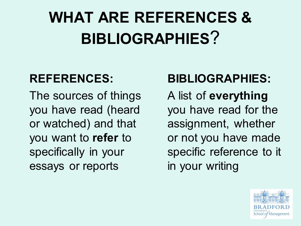 references bibliographies ppt video online what are references bibliographies