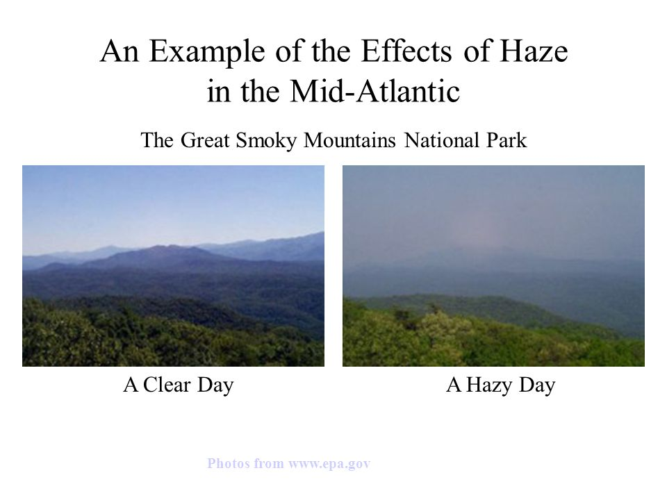 causes and effects of haze Picture adapted from    does  increase the effort in breathing and may cause discomfort, tiredness.