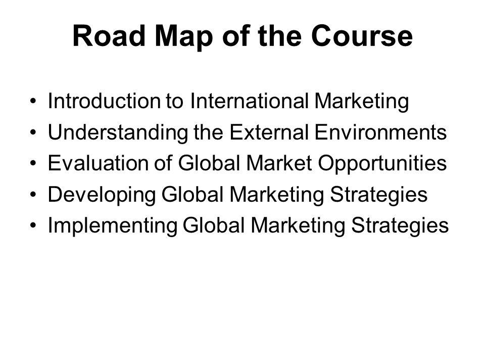 international marketing coursework