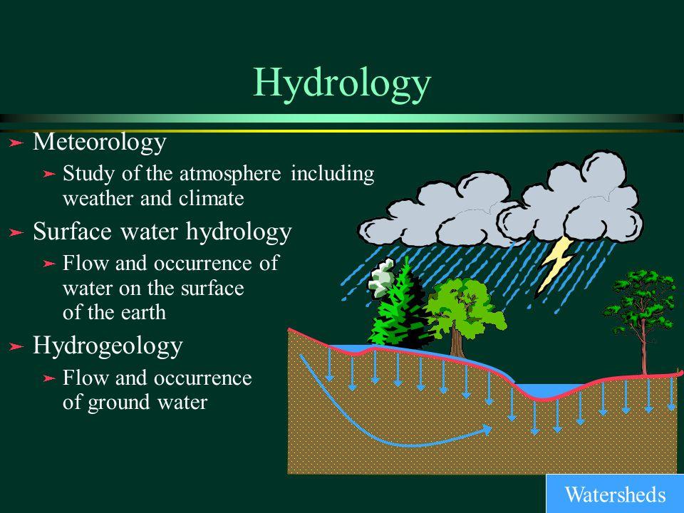 Flood hydrology study outline