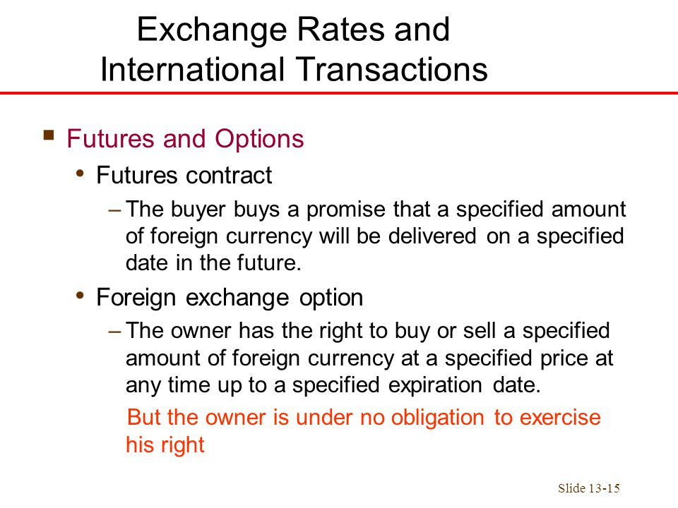 How to sell foreign currency