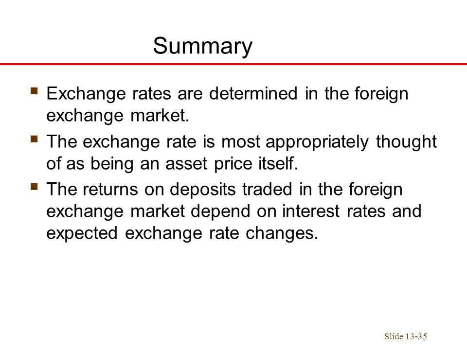 foreign exchange markets summary essay Essay on a working report on foreign exchange the foreign exchange market according to business write a 1050-to 1400-word summary detailing the.
