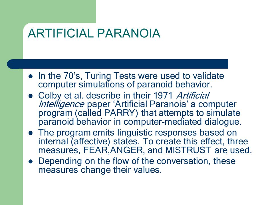 a discussion about computer intelligence through the turing test Activity 20 conversations with computers— the turing test 2 introduce the children to the test for intelligence in which you try to tell the difference.