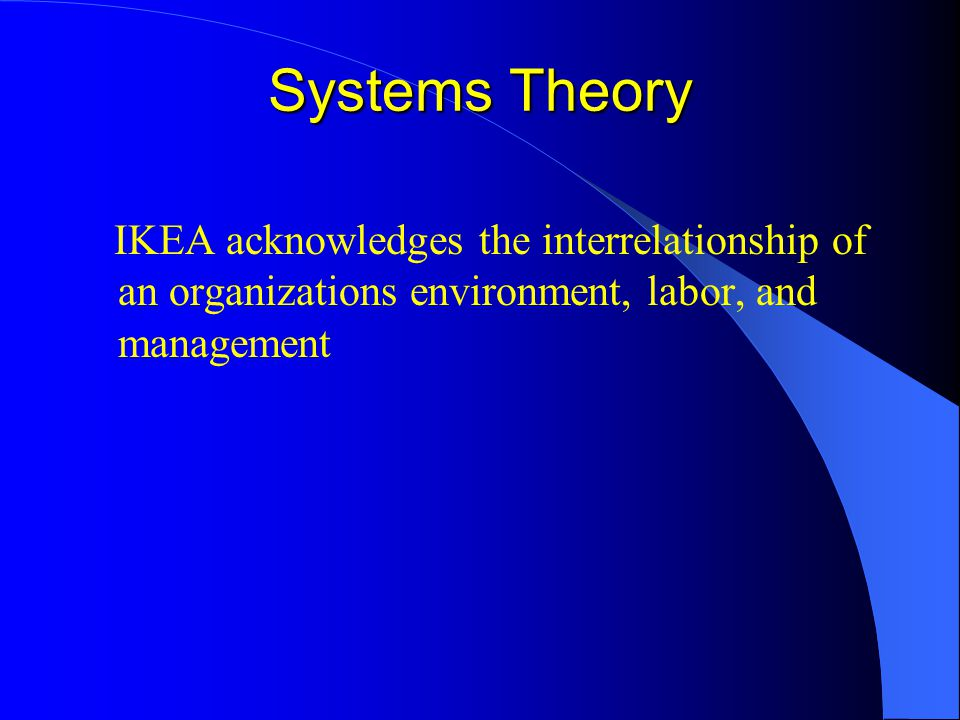 ikea knowledge management Strategic management and ikea  (hubbard, 2008) knowledge management, leaning and innovation are the key areas of dynamic capabilities knowledge management lead.