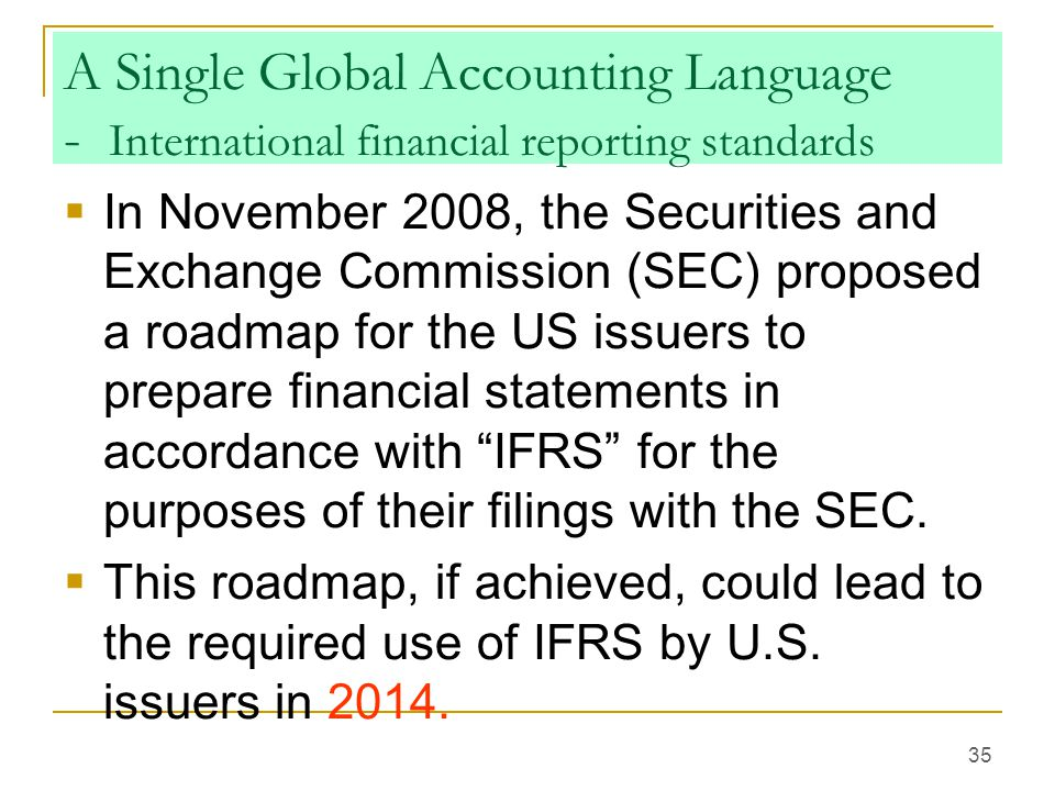 List of International Financial Reporting Standards