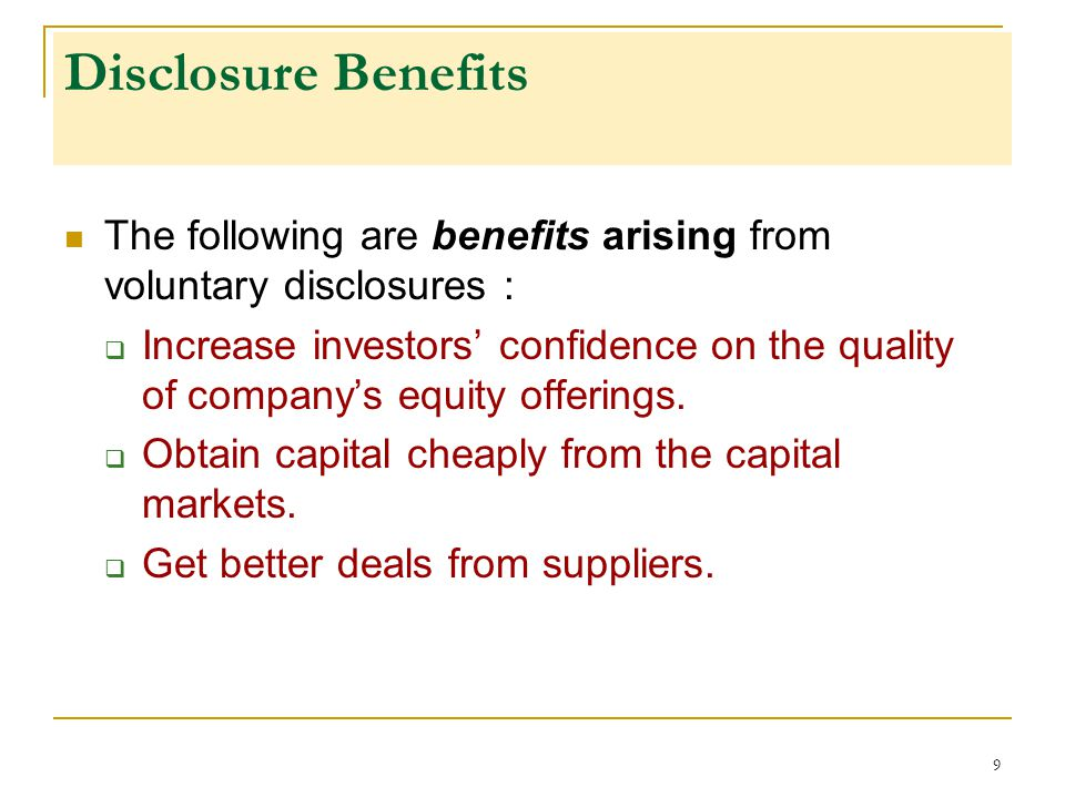 voluntary disclosure of income scheme analysis Voluntary assets and income declaration scheme (vaids) taxes, after   disclosure of previously undisclosed assets and  visit our tax blog for in-depth  analyses, unique insight and superlative perspective on tax matters.