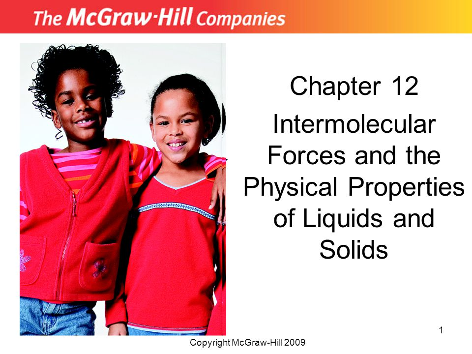 Chapter 12 Intermolecular Forces and the Physical Properties of Liquids and Solids. Insert picture from.