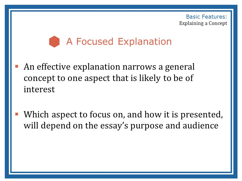 basic features of a concept explanation ppt video online  basic features explaining a concept
