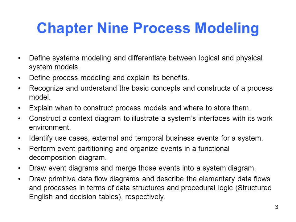 Chapter 9 Process Modeling - ppt download