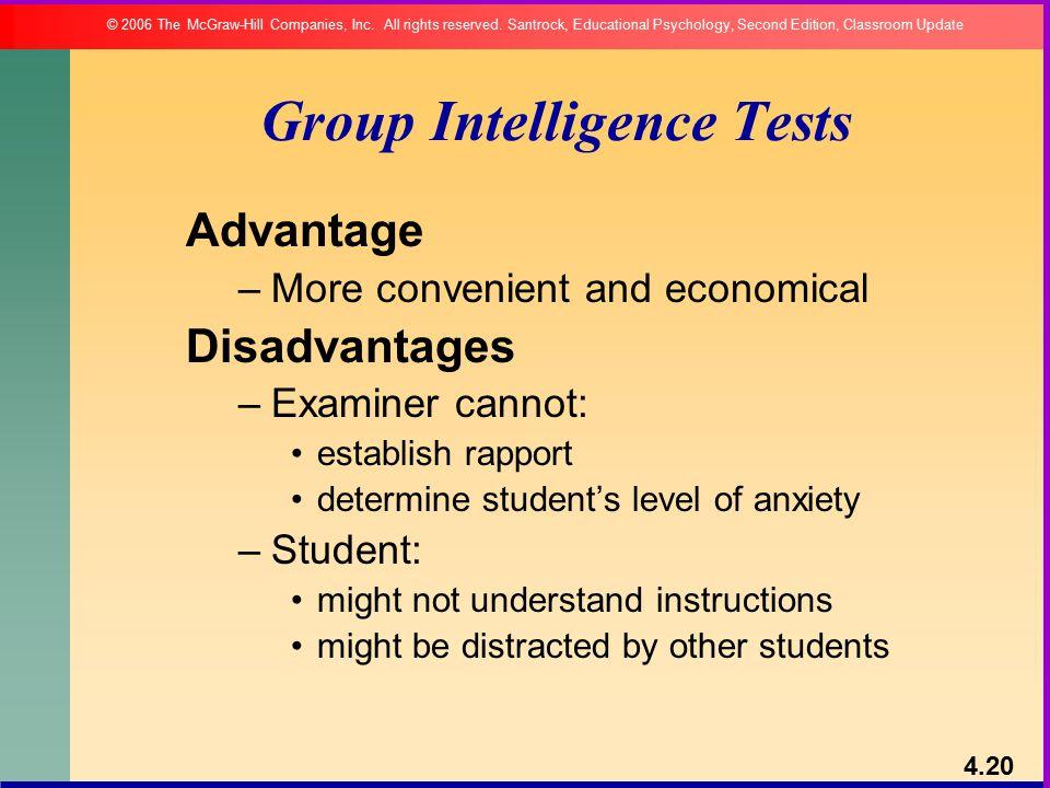 Group Intelligence Tests 53