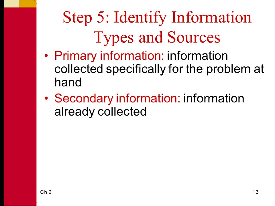 identify sources of information that can inform the process Research strategy guide for finding quality, credible sources  failure of your research strategy as you go through the process  identify the information you.