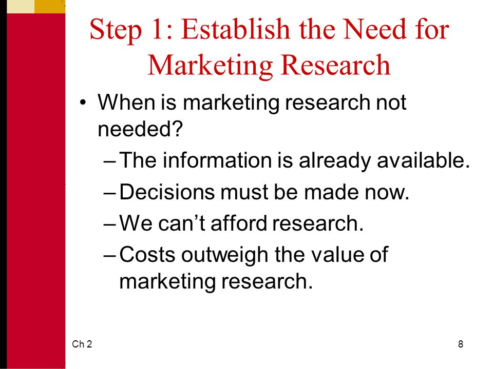 need for market research Find market research companies in united states of america for research that goes global, you need insights in marketing (iim) is a marketing research firm.