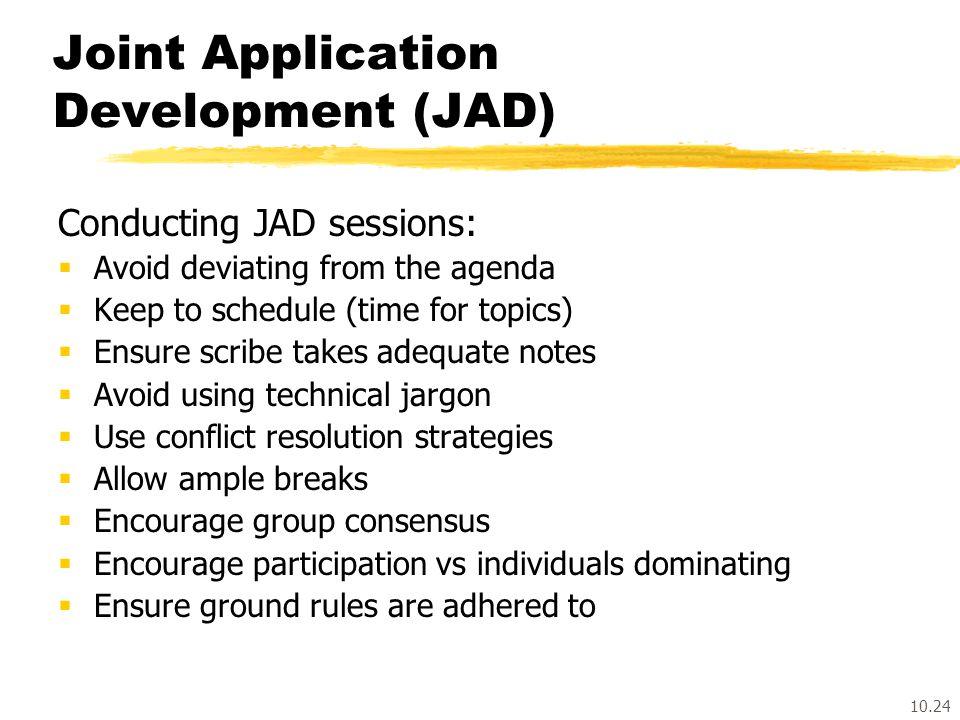 joint application development