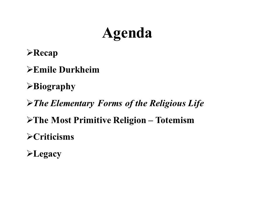 emile durkheim the elementary forms of religious life pdf
