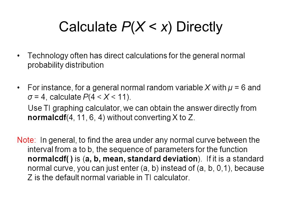 Continuous random variables the normal probability distribution 85 calculate ccuart Images